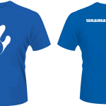 T-Shirt - Man-Kids - White-Royal Blue