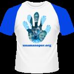 T-Shirt - Man-Lady-Kids - TS BB WHITE-ROYAL
