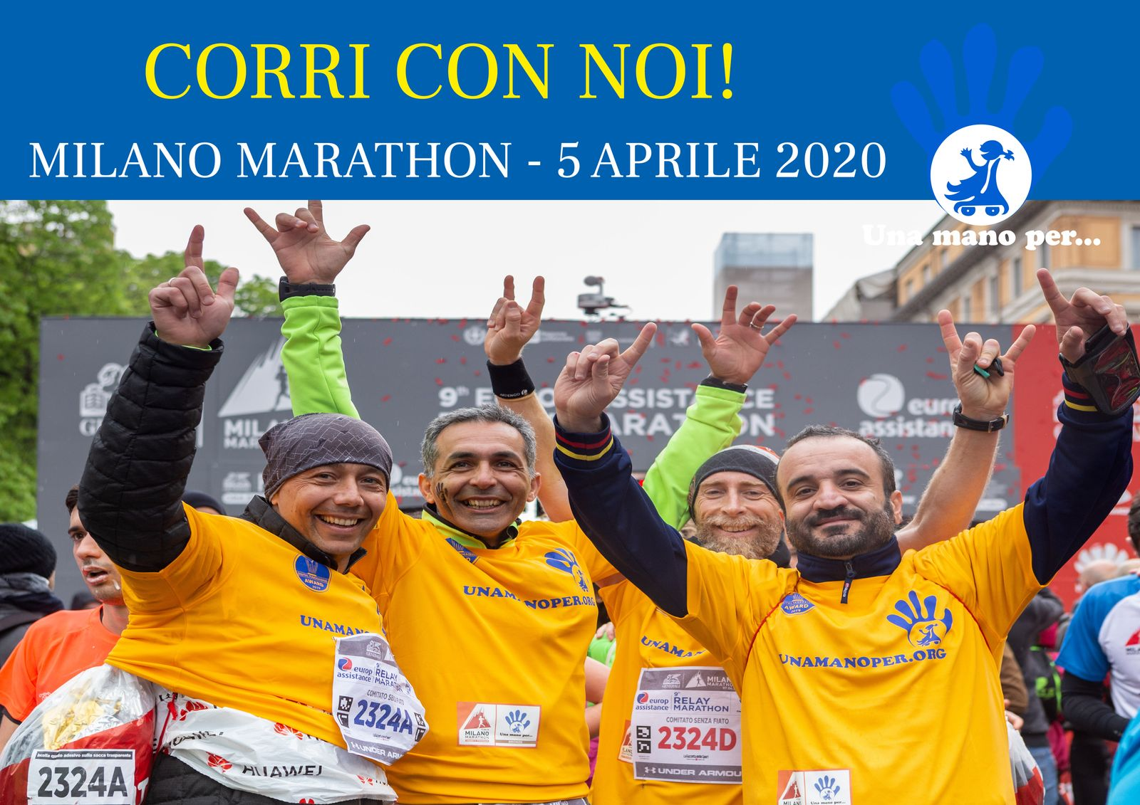 Corri con noi!